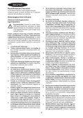 BlackandDecker Tagliasiepi Sen Cavo- Gtc1850l - Type H1 - Eu - Instruction Manual (Ungheria) - Page 4