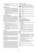 BlackandDecker Tagliasiepi Sen Cavo- Gtc1850l - Type H1 - Eu - Instruction Manual (Ungheria) - Page 6