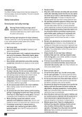 BlackandDecker Hedgetrimmer- Gt110 - Type 3 - Instruction Manual (Inglese) - Page 4