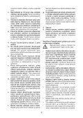 BlackandDecker Hedgetrimmer- Gt6026 - Type 1 - Instruction Manual (Czech) - Page 4