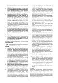 BlackandDecker Hedgetrimmer- Gt90 - Type 3 - Instruction Manual (Slovacco) - Page 4