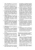 BlackandDecker Hedgetrimmer- Gt6026 - Type 1 - Instruction Manual (Ungheria) - Page 4