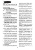 BlackandDecker Hedgetrimmer- Gt4550 - Type 1 - Instruction Manual (Turco) - Page 4