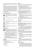 BlackandDecker Hedgetrimmer- Gt4550 - Type 1 - Instruction Manual (Turco) - Page 6