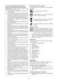 BlackandDecker Tagliabordi A Filo- Gl301 - Type 2 - Instruction Manual (Romania) - Page 6