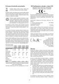 BlackandDecker Hedgetrimmer- Gt110 - Type 3 - Instruction Manual (Slovacco) - Page 7