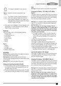 BlackandDecker Tagliasiepi Sen Cavo- Gtc1850l - Type H1 - Eu - Instruction Manual (Europeo) - Page 7