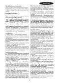 BlackandDecker Hedgetrimmer- Gt501 - Type 2 - Instruction Manual (Ungheria) - Page 3