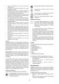BlackandDecker Hedgetrimmer- Gt501 - Type 2 - Instruction Manual (Ungheria) - Page 5