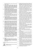 BlackandDecker Tagliasiepi Sen Cavo- Gtc610l - Type H1 - Instruction Manual (Czech) - Page 5