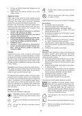 BlackandDecker Tagliasiepi Sen Cavo- Gtc610l - Type H1 - Instruction Manual (Czech) - Page 6