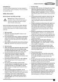 BlackandDecker Hedgetrimmer- Gt5050 - Type 1 - Instruction Manual (Inglese) - Page 3