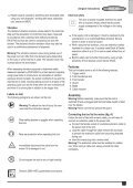 BlackandDecker Hedgetrimmer- Gt5050 - Type 1 - Instruction Manual (Inglese) - Page 5