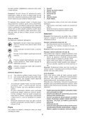 BlackandDecker Hedgetrimmer- Gt501 - Type 2 - Instruction Manual (Czech) - Page 5