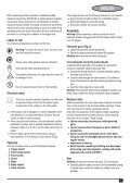 BlackandDecker Hedgetrimmer- Gt501 - Type 2 - Instruction Manual (Europeo) - Page 5