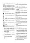BlackandDecker Hedgetrimmer- Gt5050 - Type 1 - Instruction Manual (Turco) - Page 5
