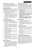 BlackandDecker Tagliabordi A Filo- Gl301 - Type 2 - Instruction Manual (Ungheria) - Page 5
