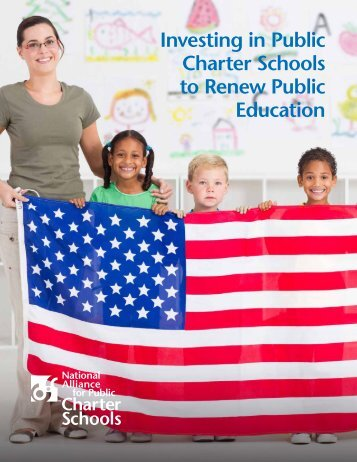 Investing in Public Charter Schools to Renew Public Education
