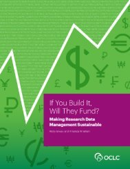 If You Build It Will They Fund? Making Research Data Management Sustainable