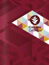 portafolio de productos Fundación Creamos Colombia