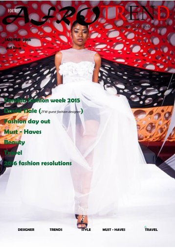 Afrotrend Magazine 3rd issue 2016