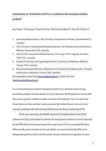 Commentary on Krishna Kumar et al. PNAS 2015