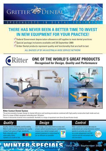Ritter Contact D720 Gritter Dental