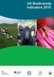 UK Biodiversity Indicators 2015