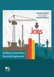 Building Communities Boosting Employment