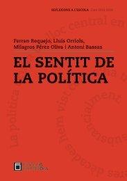 EL SENTIT DE LA POLÍTICA