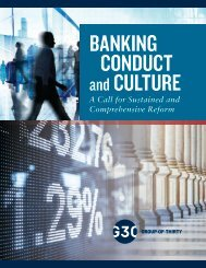 BANKING CONDUCT CULTURE