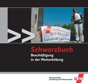 Schwarzbuch - GEW