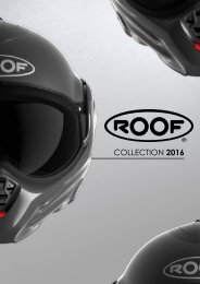 ROOF HELMETS CATALOGUE COLLECTION 2016 FR-EN