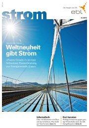 Strom Magazin 4/2012 - EBL