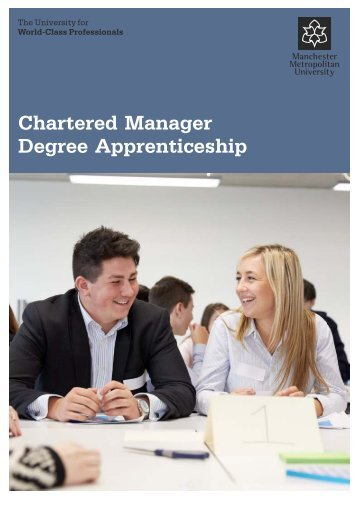 Chartered Manager Degree Apprenticeship
