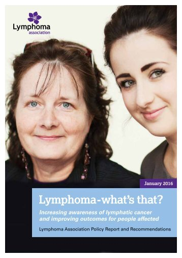 Lymphoma-what's that?