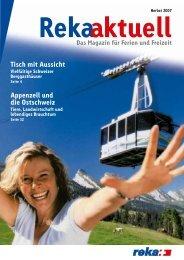 Reka aktuell Herbst 2007 - Schweiz