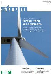 Frischer Wind aus Andalusien - EBM