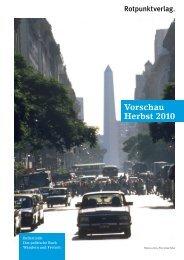 Vorschau Herbst 2010 - indiebook