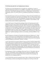 Jahresbericht 2011 - PV ETH