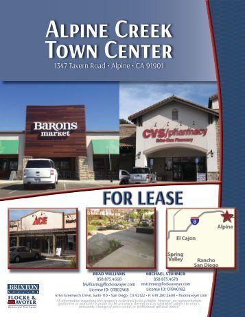 Alpine Creek Town Center
