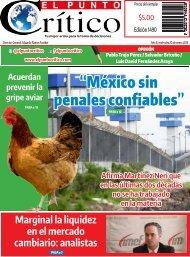 """México sin penales confiables"""