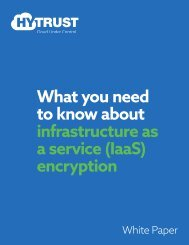 What you need to know about infrastructure as a service (IaaS) encryption