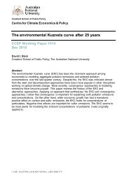 The environmental Kuznets curve after 25 years