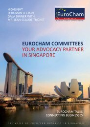 EUROCHAM COMMITTEES YOUR ADVOCACY PARTNER IN SINGAPORE