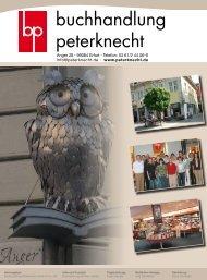 Herausgeber: Buchhandlung Peterknecht GmbH & Co. KG Idee und ...