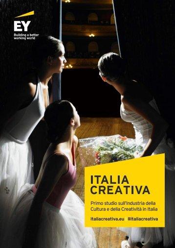 Primo studio sull'Industria della Cultura e della Creatività in Italia