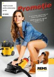 Promoție REMS - mașini și scule pentru prelucrarea țevilor