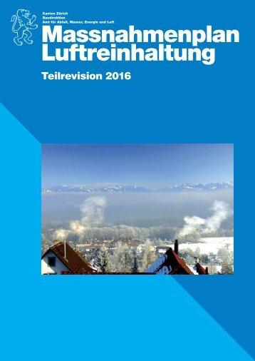 Massnahmenplan Luftreinhaltung