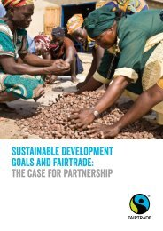 Goals and Fairtrade the case for partnership